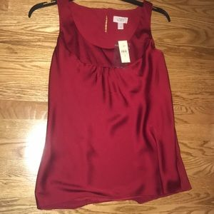 Ann Taylor red tank top!!